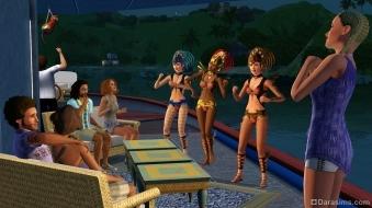 Карнавальный набор в «The Sims 3 Island Paradise»