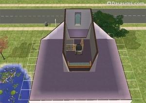 Строительство чердака в Симс 2