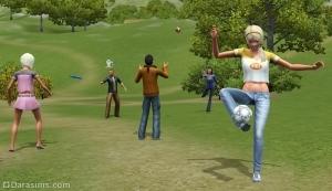 Спортсмены и спортивные агенты в «Симс 3 Студенческая жизнь»