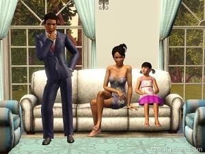 Обзор семей Санлит Тайдса в The Sims 3 Store
