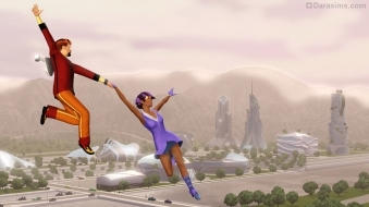 Полеты в «The Sims 3 Into The Future»