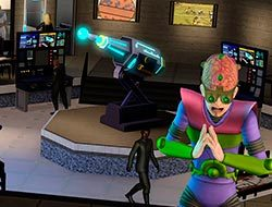 Супер-злодей из «The Sims 3 Movie Stuff»