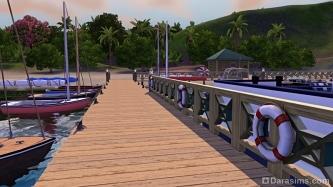 Как построить порт и плавучий дом в «The Sims 3 Island Paradise»