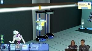 Обзор второго видео-чата по «Симс 3 Вперед в будущее»