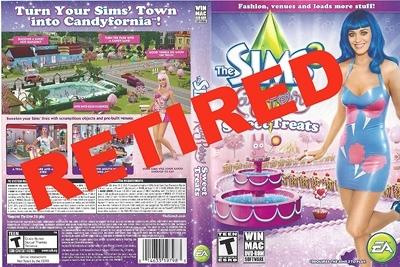 «The Sims 3 Katy Perry Sweet Treats» больше не продается