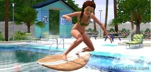 Коллекция «Солнце, серфинг и вода» в The Sims 3 Store