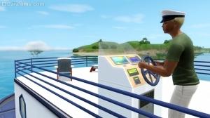 Плавучий дом и водный транспорт в «The Sims 3 Island Paradise»
