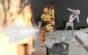 «The Sims 3: Вперед в будущее»: 1010 свежих фактов о пламботах