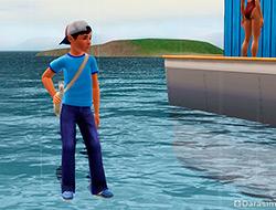 Ну и кто угнал мой аквабайк, пока я оставлял газету? [The Sims 3]