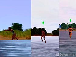 Ходим аки по суху [The Sims 3]