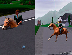 Скрытые навыки верховой езды [The Sims 3]