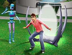 Временной портал в «Симс 3 Вперед в будущее»