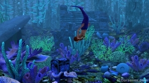 Русалки в «Симс 3 Райские острова»