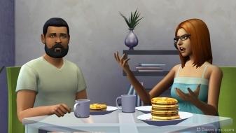Завтрак в Симс 4
