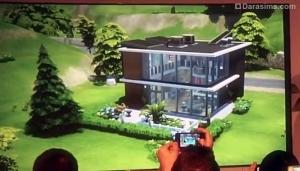 Немного информации о режиме строительства в The Sims 4
