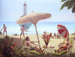 Пляж [Sims 2]