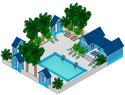 Аквапарк из Сансет Вэлли [the Sims 3]