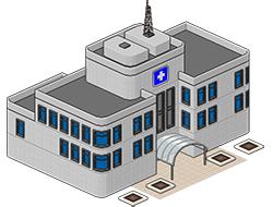 Больница из Сансет Вэлли [the Sims 3]