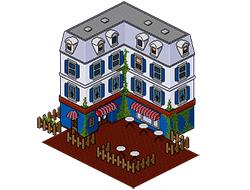 Бистро из Сансет Вэлли [the Sims 3]
