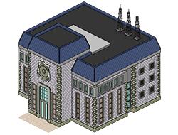 Полицейский участок из Сансет Вэлли [the Sims 3]