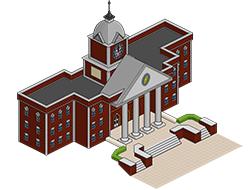 Ратуша из Сансет Вэлли [the Sims 3]