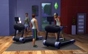 Спорт в The Sims 4