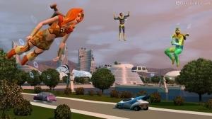 Киногерои в «The Sims 3 Into the Future»