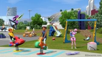 Детская площадка в «The Sims 3 Into the Future»