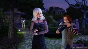 Тема ужасов в каталоге «The Sims 3 Кино»