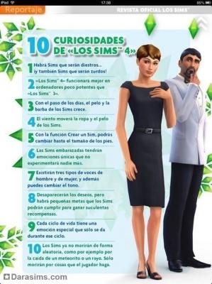 10 фактов о «Симс 4» от испанского журнала