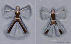 Сезонные развлечения: снеговики, снежные ангелы и тыквенные фонари