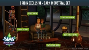 Подарок за заказ «Sims 3 Into the Future» в магазине Origin