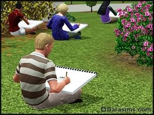 Учеба в университете в «Симс 3 Студенческая жизнь»