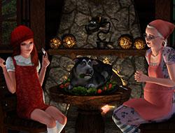 Красная шапочка [Sims 3]