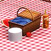 Размещение корзинок для пикников на общественных участках в Симс 3