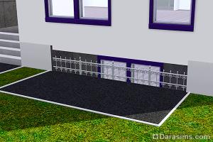 Строительство полуподвала с окнами в Симс3