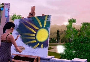 История разработки навыка рисования в Симс 3