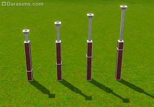 Создание уникальных колонн из обычных в Симс 3