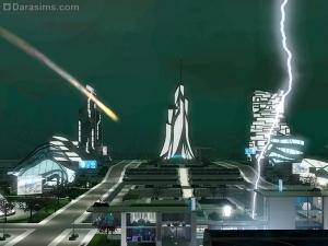 Антиутопия в «Симс 3 Вперед в будущее»