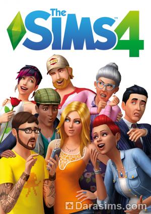 Новая обложка Симс 4