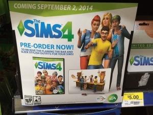 Симс 4 выйдет 2 сентября 2014 года
