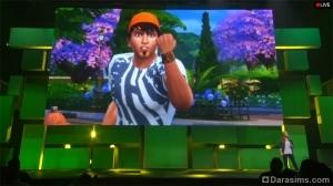 Презентация Симс 4 на пресс-конференции EA Games