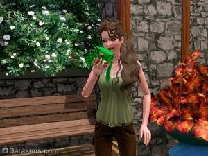 Травы, кофе, напитки и чаи в «Симс 3 Студенческая жизнь»