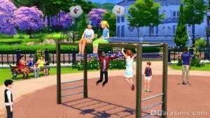 Подробнее о загрузочных экранах и передвижении по миру в The Sims 4
