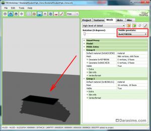 Настройка гео-состояний для книжных полок и других объектов в TSR Workshop
