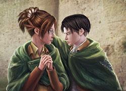 Ханджи и Леви [Sims 3]
