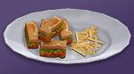 Бутерброд БЛТ с вегетарианским беконом