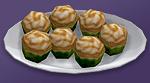 Кекс с ирисками