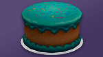 Торт «Конфетти»