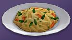 Паста с овощным соусом